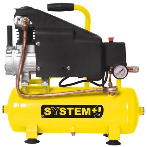 COMPRESSORE 9 LITRI 1,5HP SY012-NEW SYSTEM+