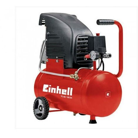 Compressore Ad Aria Autolubrificato 24 Lt 1500W Einhell Tc-Ac 190/24 + Kit Omagg