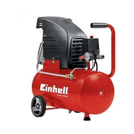 Compressore Ad Aria Portatile Autolubrificato 24L 1500W Einhell Tc-Ac 190/24