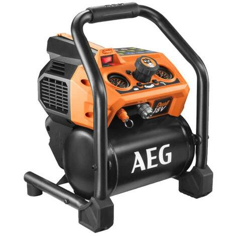 Compressore AEG 18V - Senza batteria e caricabatterie BK18-38BL-0