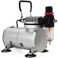 Compressore aerografo Professionale Set di Compressore d'Aria  20-23L/min   1450 U/min   1/6 HP