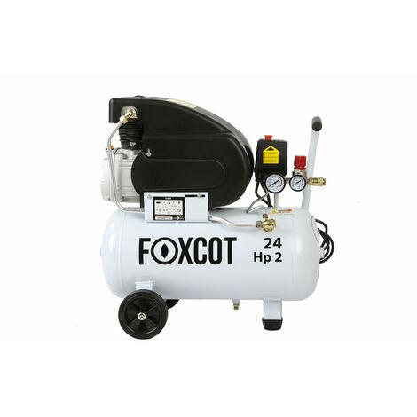 Compressore aria 24 litri Foxcot FL24 Con kit omaggi