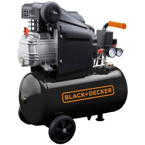 Compressore aria 24 lt Black and Decker BD 205/24 - Giallo