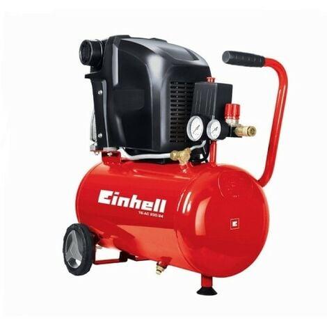 COMPRESSORE ARIA 24 LT EINHELL TE-AC 230/24 EXPERT MOTORE 2HP 230 LT/MIN.