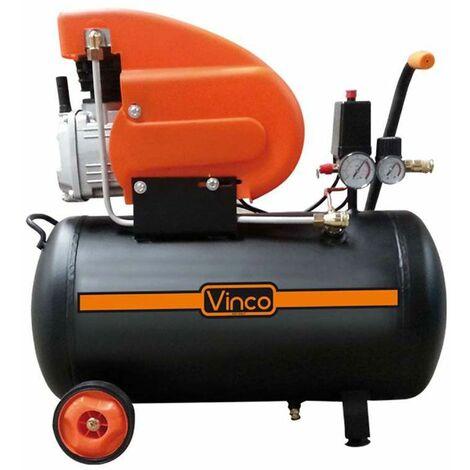 Compressore aria 24 lt Vinco 60600 coassiale