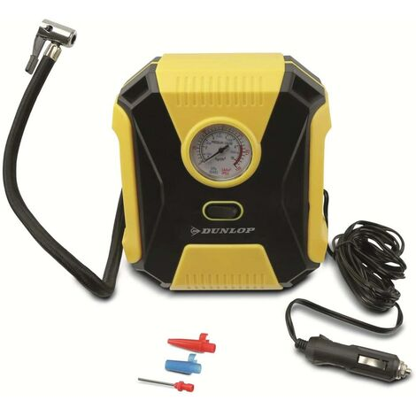 """main image of """"Compressore Aria Auto Portatile 12V 150psi Ruote Auto Portatile 3 Becucci Dunlop"""""""