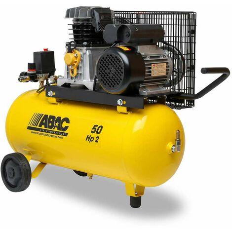 """main image of """"compressore aria lubrificato abac b26 serbatoio 50 litri a cinghia 2 hp 210 l/min"""""""