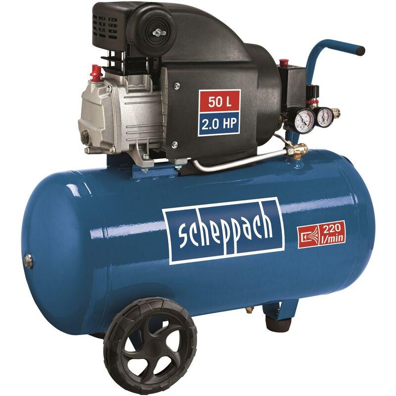 TTCompressore d/'aria lubrificato ad olio 50 litri 8 Bar