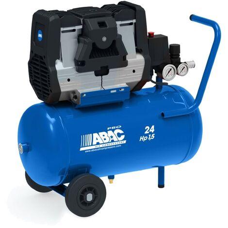 Compressore aria silenziato Abac Pole Position OS20P 24 litri 2,0Hp