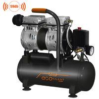 Compressore aria Silenziato Portatile Vinco a secco Non serve Olio 50 24 8 Lt