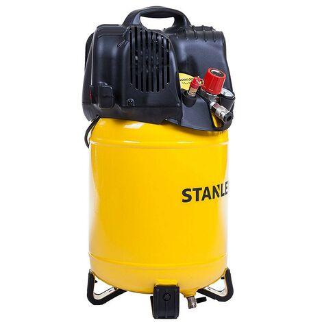 Compressore Aria Stanley 24 Lt Litri Verticale Compatto Elettrico Ruote Valvola