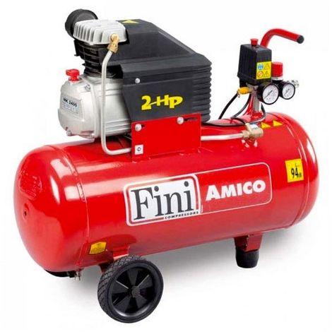 Compressore compatto coassiale Fini AMICO 50 MK 2400 motore elettrico OMAGGIO