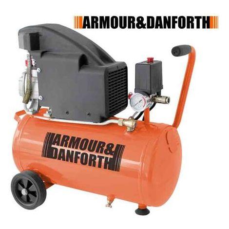 Compressore d'aria 24 litri 1800w 2.5 Hp 8bar Armour&Danforth TMX2304-2019