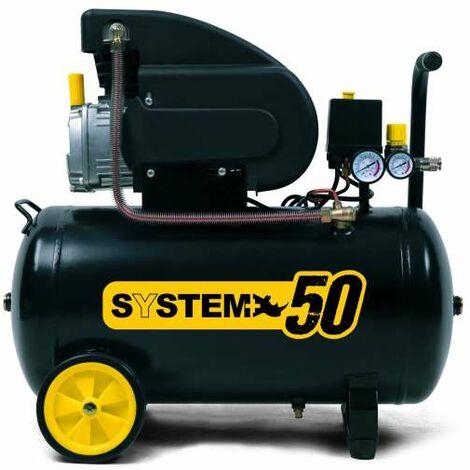 Compressore lubrificato ad olio 50 l