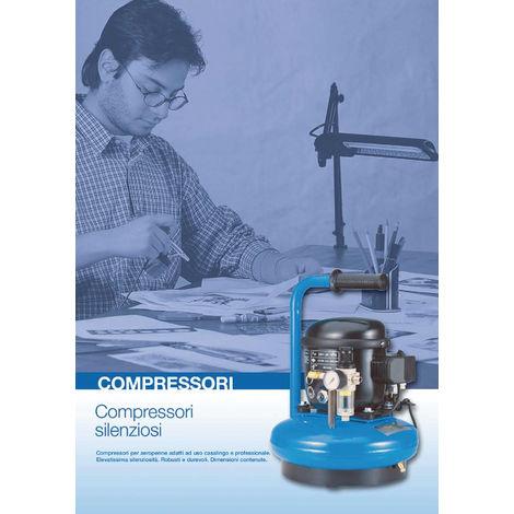 Compressore silenziato Abac Junior 30 - 6 litri