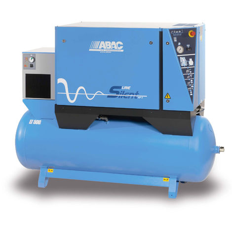 Compressore silenziato trifase Abac B6000 LN 500 T 7,5 DRY