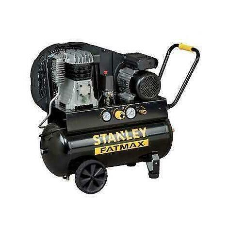 Compressore Stanley Lt 100 2 Hp 230 V Aspira 222 Lt/Min. Di Aria Pres Max 8 Bar