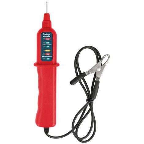 Comprobador Baterias Plomo 12v Cable De Prueba 0.8m Mul024