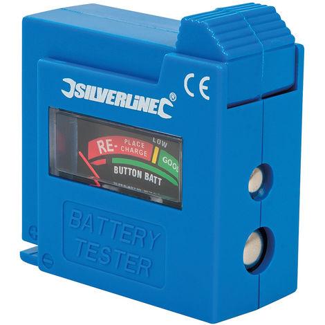 Comprobador de pilas y baterías AAA, AA, C, D, 9 V, LR1, A23 y pilas de botón - NEOFERR