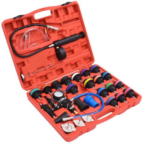 Comprobador de presión de radiador 28 piezas
