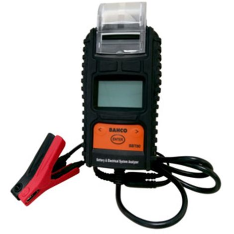 Comprobador electrónico baterías c/impresora BBT80 BAHCO