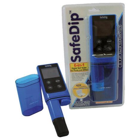 Comprobador electrónico de piscinas y spas - safedip