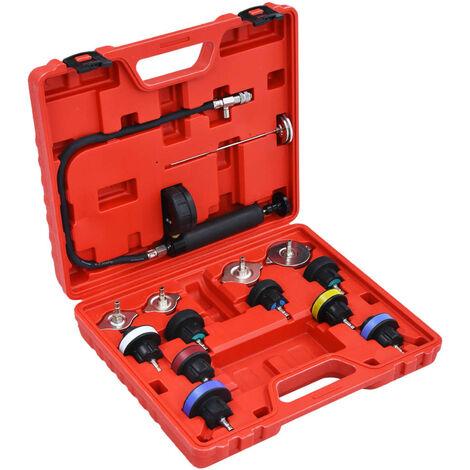 Comprobador presion circuito refrigeracion y radiador 14 piezas