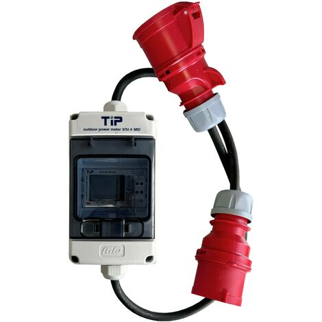 Compteur de courant triphasé pour appareil de mesure de puissance extérieur A704841