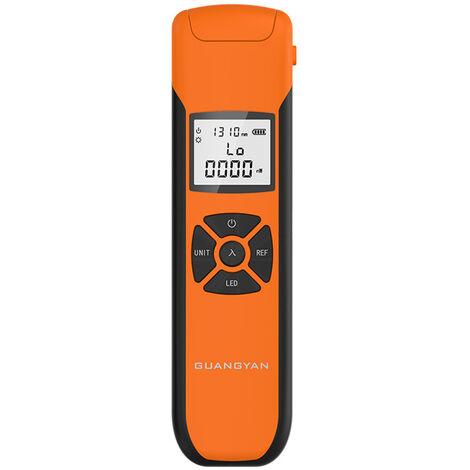 Compteur de puissance optique Testeur d'attenuation optique de fibre optique de haute precision Mini compteur de puissance optique, G1000: -70 + 3