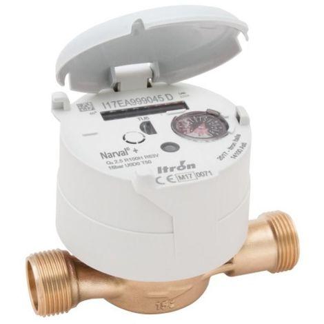 Compteur deau divisionnaire eau chaude 20x27 calibre DN15