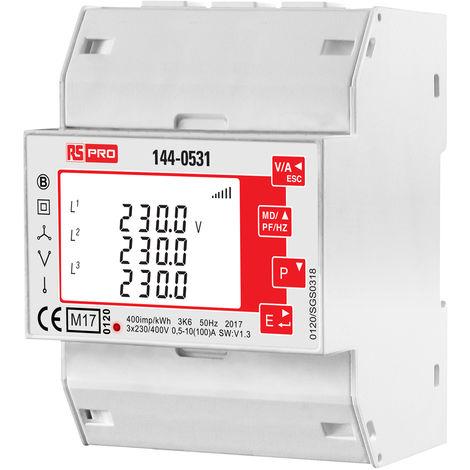 Compteur d'énergie avec écran LCD 4 Digits 1 Phase