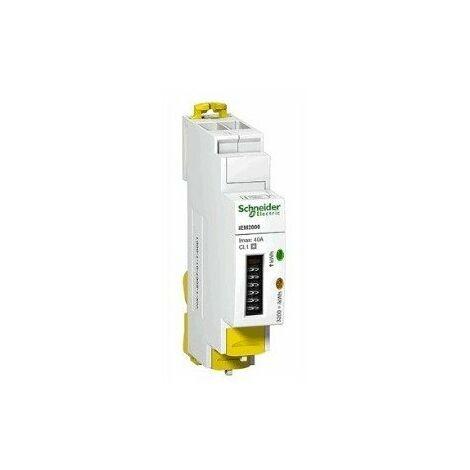 Compteur d'énergie iEM2010 - Avec report d'impulsions