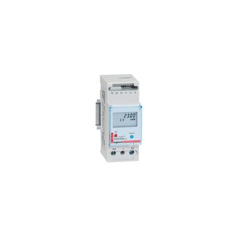 Compteur d'énergie Legrand monophasé Lexic - branchement direct jusqu'à 63 A