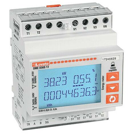 Compteur d'énergie Lovato trois-Phase 5A 4U DMED305T2