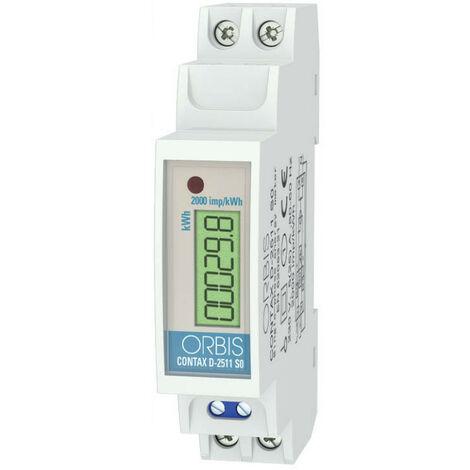 Compteur d'énergie modulaire Orbis CONTAX D-2511 je SAIS numérique OB701100