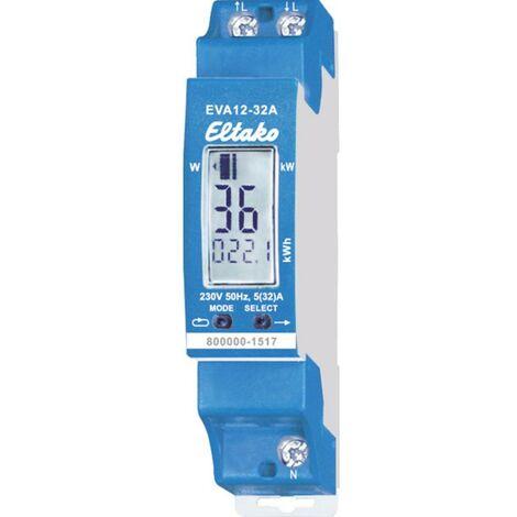 Compteur dénergie monophasé Eltako EVA12-32A 28032411 32 A conformité MID: non 1 pc(s)
