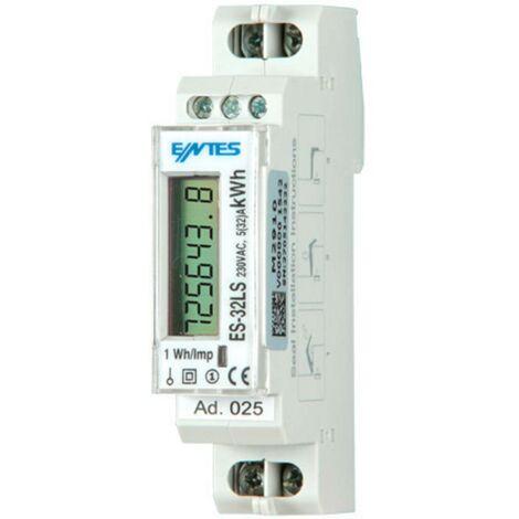 Compteur dénergie monophasé ENTES ES-32LS ES-32LS numérique conformité MID: non 1 pc(s)