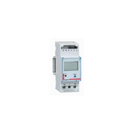 Compteur d'énergie monophasé Legrand Lexic, branchement direct jusqu'à 32 A
