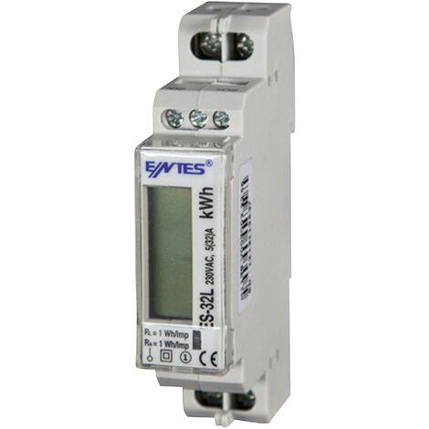 Compteur d'énergie monophasé numérique 32 A ENTES 101513 conformité MID: oui 1 pc(s) Q868401