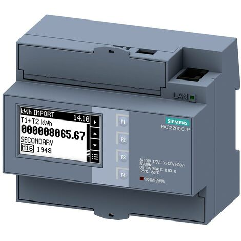 Compteur dénergie Siemens 7KM2200-2EA40-1JB1 7KM22002EA401JB1 1 pc(s)