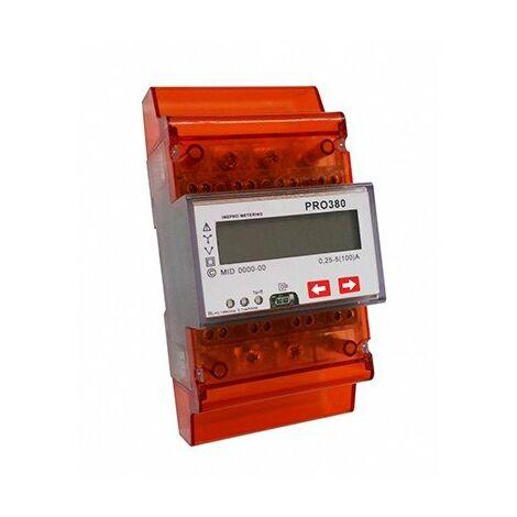 Compteur d'énergie tri/tetra à mesure directe - 100A - 230V - Mbus