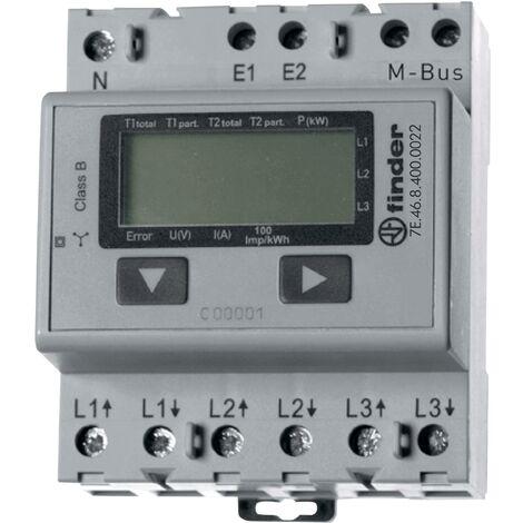 Compteur d'énergie triphasé avec écran digital Q53316