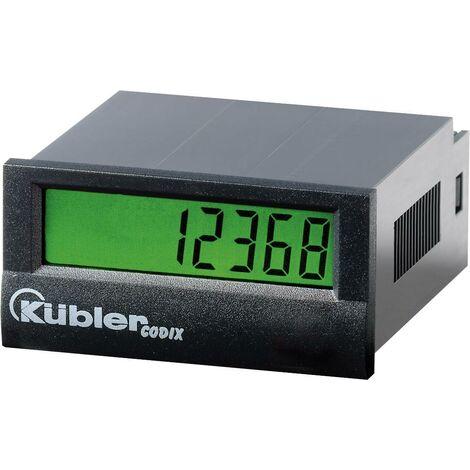 Compteur d'impulsion Codix 130HB AC Kübler 6.130.012.863 Dimensions encastrées 45 x 22 mm 10-260 V AC/DC, 30 Hz 1 pc(s) Q59779