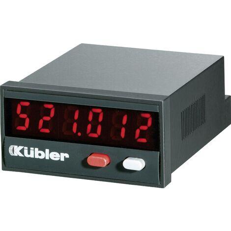 Compteur d'impulsions 10 - 30 V/DC Kübler Codix 521 Q57473