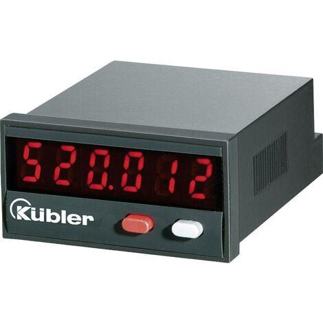 Compteur d'impulsions à affichage LED 10 - 30 V/DC Kübler Codix 520 Q57471