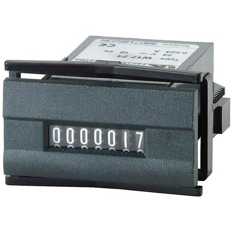 Compteur d'impulsions Kübler W 17.50 24 V/DC Q57424