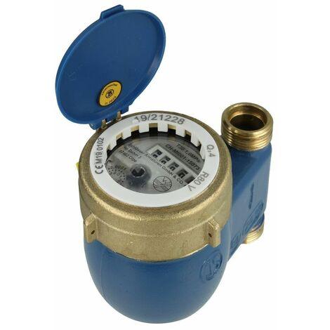 Compteur eau domestique à jets multiples MNRS 16 m³/h taxe comprise