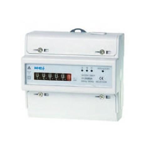 Compteur électrique Contax D triphasé - 80A - MECA