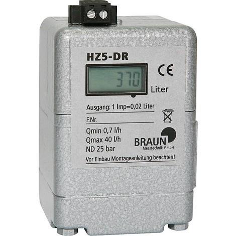 Compteur fioul Braun HZ5-DR