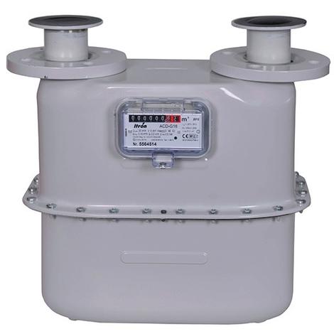 Compteur Gaz naturel/GPL basse pression à brides type G16 DN50